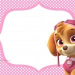 Convite Digital Patrulha Canina para meninas