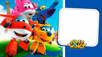Convite Kit Festa Super Wings