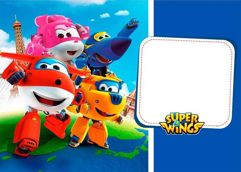 Kit Festa Super Wings Gratis Para Imprimir