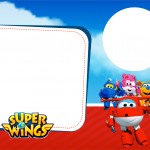 Convite com Foto Super Wings