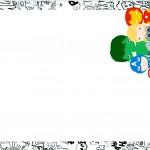 Convite ou Moldura Kit Festa Vingadores Cute