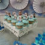 Cupcakes Bolo Festa Frozen da Sarah