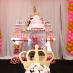 Decoração Festa Princesa Manuela