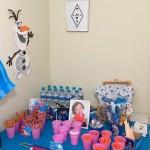 Doces Festa Frozen da Eloísa
