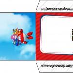 Envelope CD DVD Super Wings