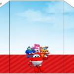 Envelope Convite Super Wings