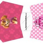Envelope Fritas Patrulha Canina para Meninas