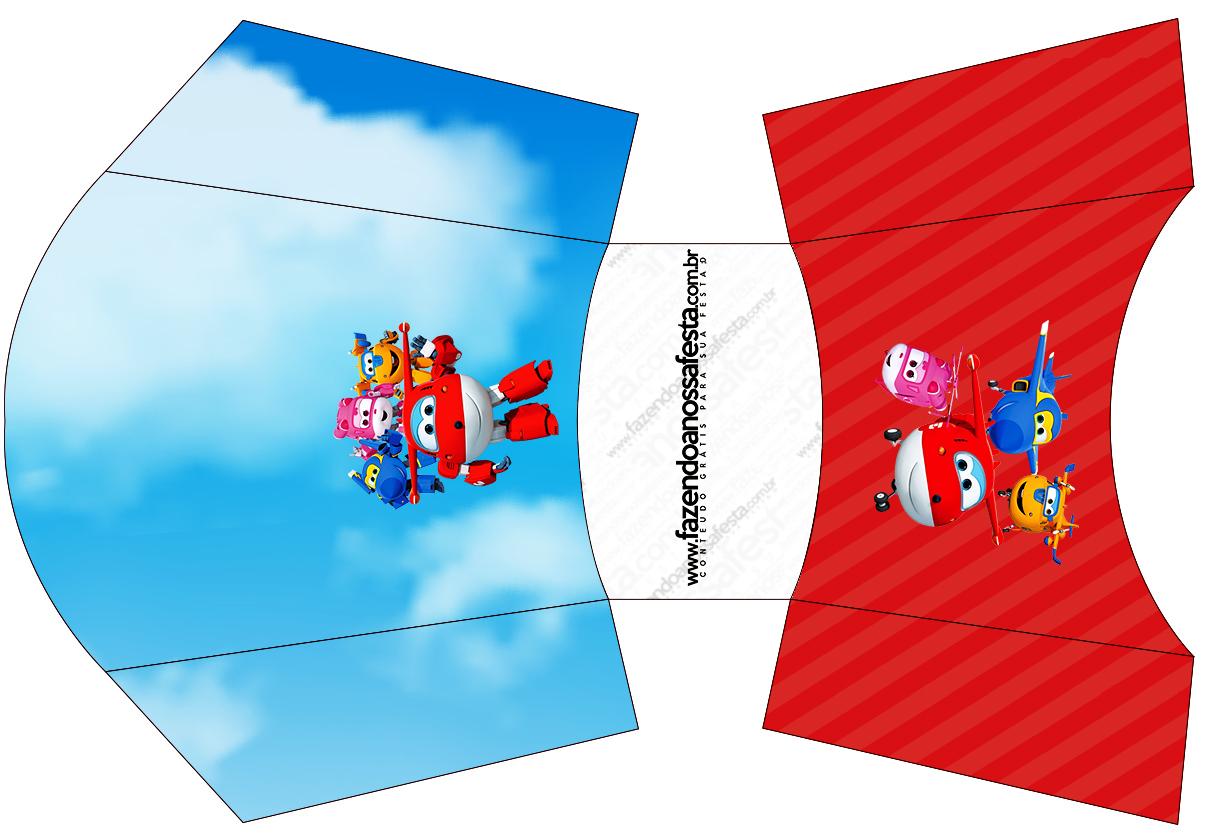 Envelope Fritas Super Wings