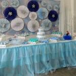 Festa Frozen da Sarah Decoração