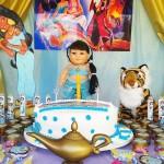 Festa Princesa Jasmine da Ana Letícia Bolo