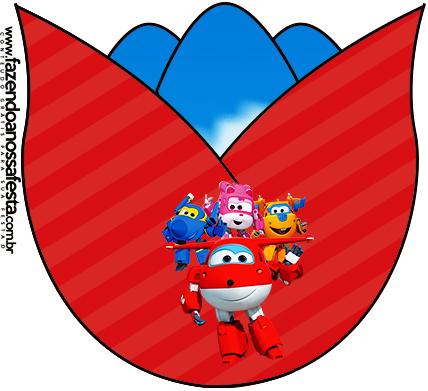 Flor Super Wings