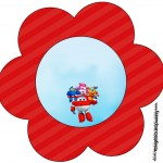 Flor Topper Super Wings