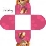 Forminha Docinho 3D Patrulha Canina para Meninas