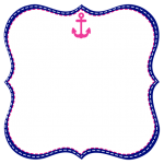 Frame Menina Marinheira Loira