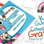 O Incrível Mundo de Gumball – Kit Festa