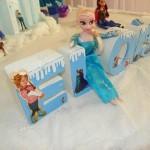 Letras 3D Festa Frozen da Eloísa