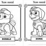 Livrinho para Colorir do Patrulha Canina Página 2
