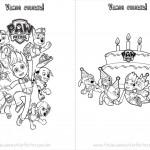 Livrinho para Colorir do Patrulha Canina Página 4