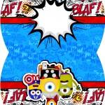 Maleta Minions Super-Heróis
