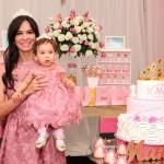 Mamãe e Princesa Festa Princesa Manuela