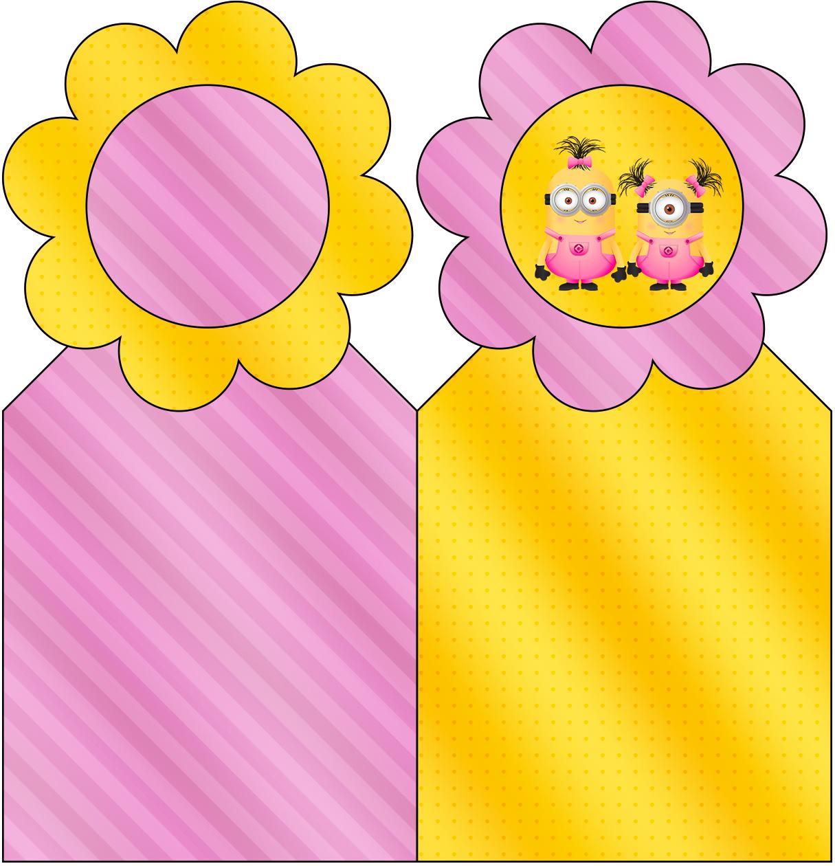 Marcador de Páginas Minions para Meninas
