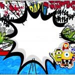 Marmita 500gr Minions Super-Heróis