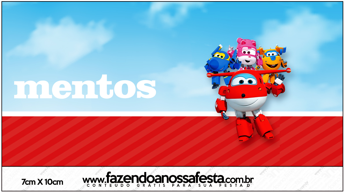 Mentos Super Wings