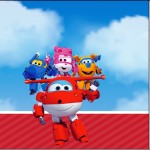 Mini Confeti Super Wings