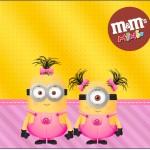 Mini M&M Minions para Meninas
