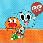 Mini M&M o Incrível Mundo de Gumball