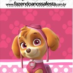 Mini Pastilha Docile Patrulha Canina para Meninas