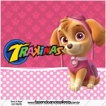 Mini Trakinas Patrulha Canina para Meninas