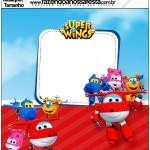 Molde Quadrado Super Wings