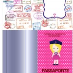 Passaporte Menina Marinheira Loira