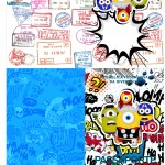 Passaporte Minions Super-Heróis