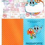 Passaporte o Incrível Mundo de Gumball