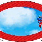 Placa Elipse Super Wings