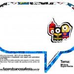 Plaquinhas Divertidas Minions Super-Heróis 60