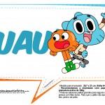 Plaquinhas Divertidas O Incrível Mundo de Gumball 24