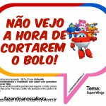 Plaquinhas Divertidas Super Wings 10