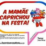 Plaquinhas Divertidas Super Wings 11