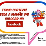 Plaquinhas Divertidas Super Wings 12