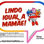 Plaquinhas Divertidas Super Wings 13