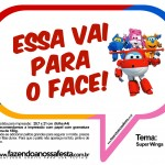 Plaquinhas Divertidas Super Wings 14
