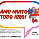 Plaquinhas Divertidas Super Wings 15