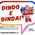 Plaquinhas Divertidas Super Wings 16