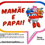 Plaquinhas Divertidas Super Wings 18