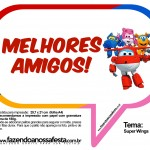 Plaquinhas Divertidas Super Wings 19