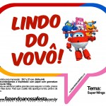 Plaquinhas Divertidas Super Wings 20