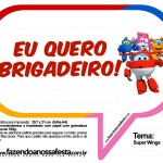 Plaquinhas Divertidas Super Wings 21